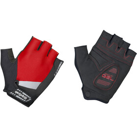 GripGrab SuperGel Short Finger Padded Gloves red